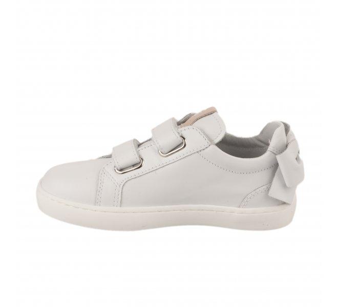 Baskets fille - NEROGIARDINI - Blanc