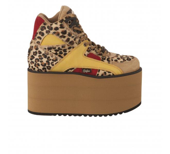 Baskets fille - BUFFALO - Leopard