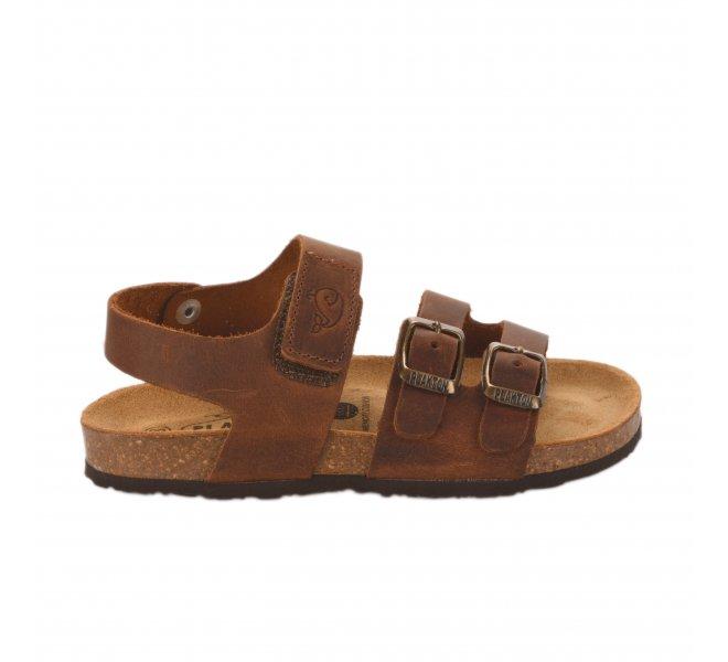 Nu-pieds garçon - PLAKTON - Marron