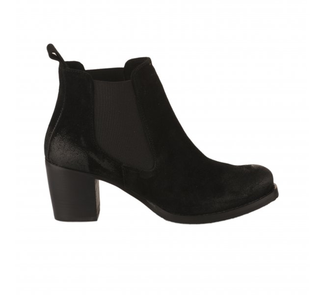 Boots fille - SO SEND - Noir