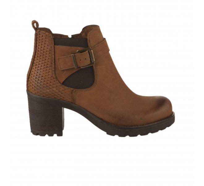 Boots fille - SO SEND - Naturel