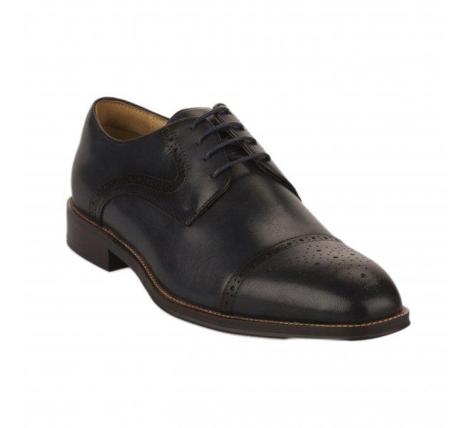 Chaussures à lacets garçon - STEPTRONIC - Bleu marine