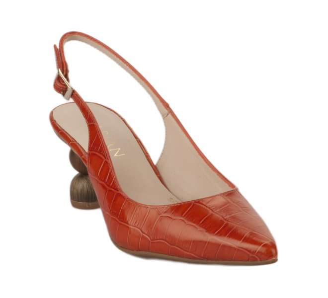 Escarpins fille - MARIAN - Orange