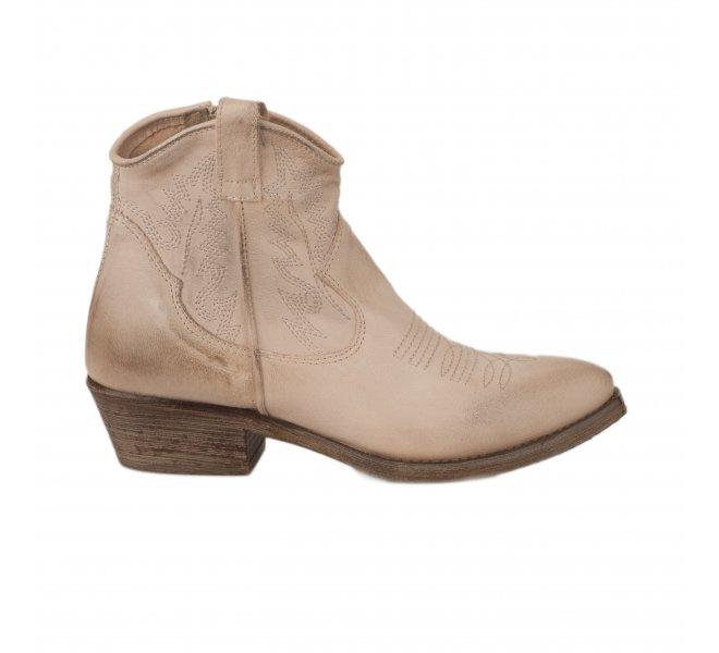 Boots fille - METISSE - Beige