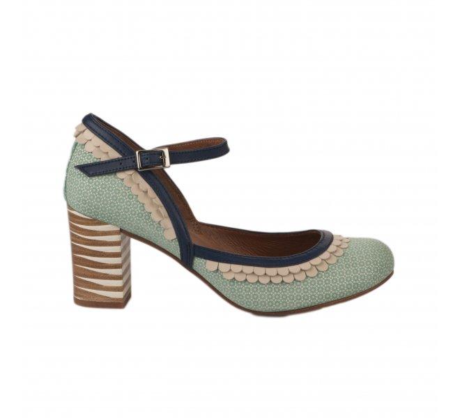 Escarpins fille - NEMONIC - Bleu turquoise