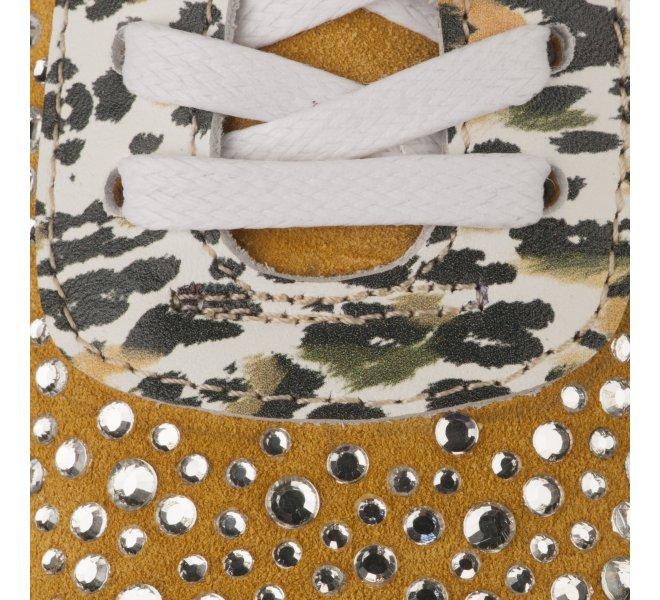 Baskets mode fille - MIGLIO - Jaune