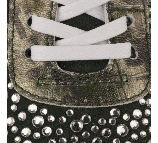 Baskets mode fille - MIGLIO - Kaki
