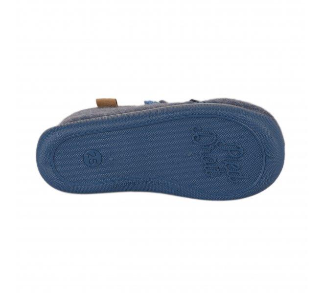Pantoufles garçon - APOTIPOMA - Bleu
