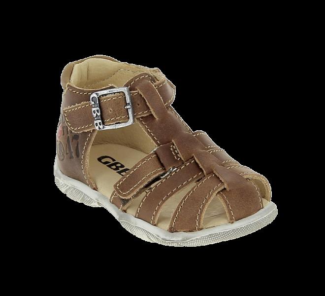 Nu-pieds garçon - GBB - Marron
