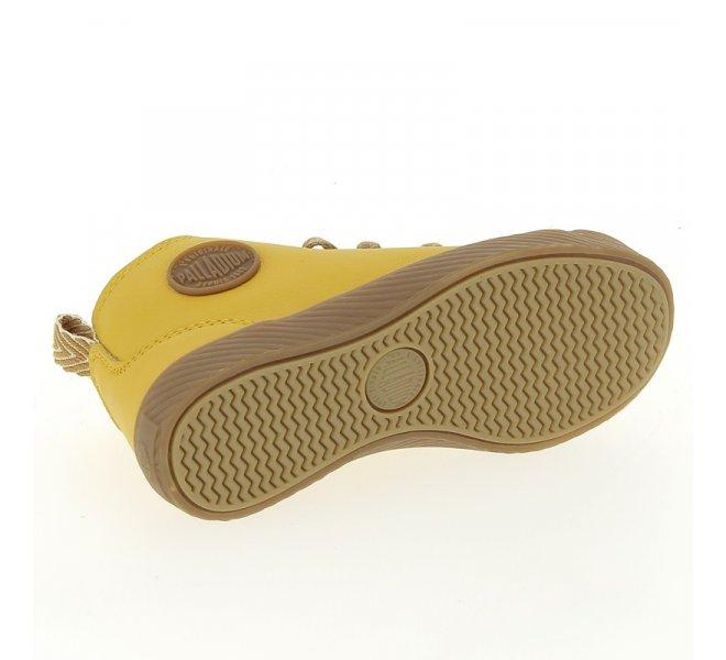 Chaussures garçon - PALLADIUM - Jaune