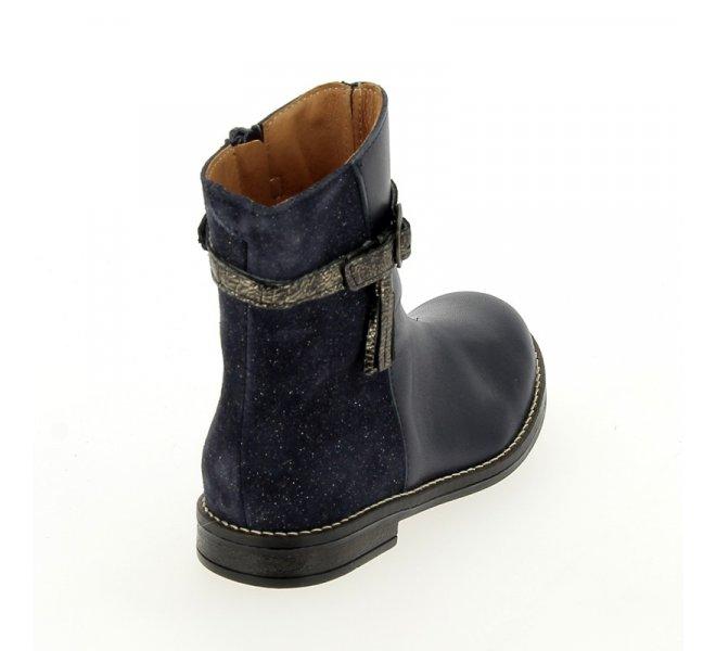 Bottes fille - BABYBOTTE - Bleu marine