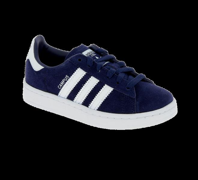 Chaussures sport garçon Campus Adidas en daim bleu · adidas