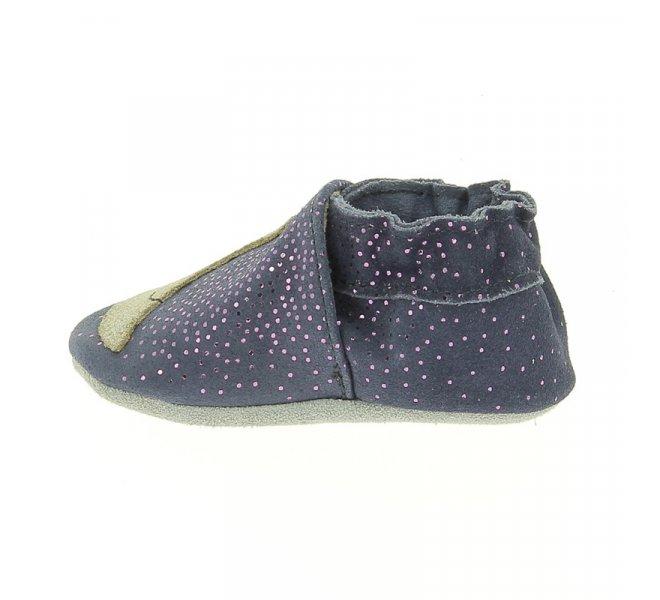 Chaussures fille - ROBEEZ - Bleu marine