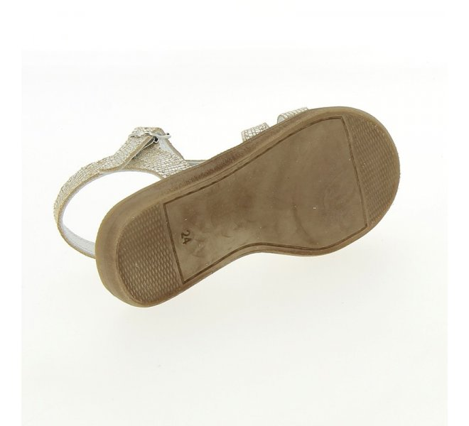 Nu-pieds fille - BELLAMY - Gris argent