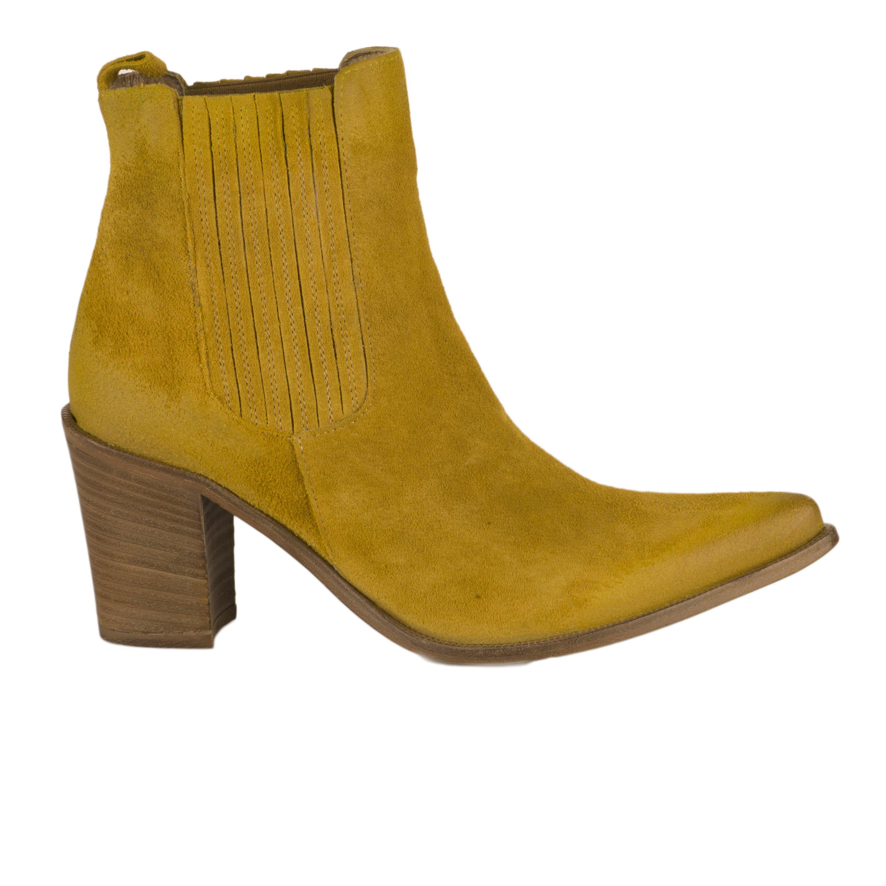 Boots femme MIGLIO Jaune