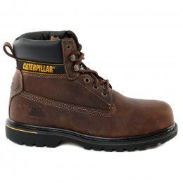 Bottines garçon - CATERPILLAR - Marron fonce