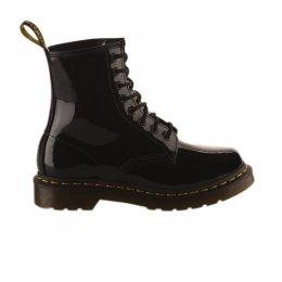 Bottines mixte - DR MARTENS - Noir verni