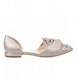 Ballerines fille - LOUISA - Beige rose