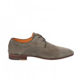 Chaussures à lacets garçon - AMBITIOUS - Kaki