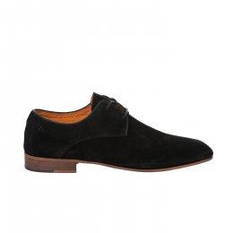 Chaussures à lacets garçon - AMBITIOUS - Noir