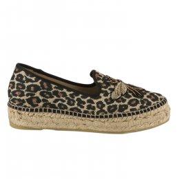 Espadrilles fille - GAIMO - Leopard