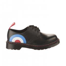 Chaussures à lacets fille - DR MARTENS - Noir