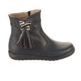 Boots fille - POLDINO - Bleu marine