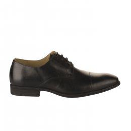 Chaussures à lacets garçon - STEPTRONIC - Noir