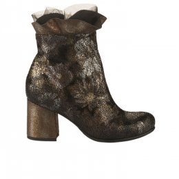 Boots femme - PAPUCEI - Dore mordore