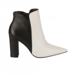 Boots femme - STYME - Bicolore