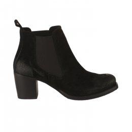 Boots fille - SO SEND - Noir