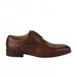 Chaussures à lacets garçon - STEPTRONIC - Naturel