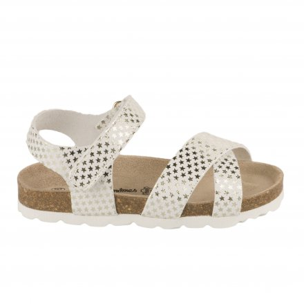b3d7f1cfb1bfe Nu-pieds fille - CHAUSSMOME - Blanc ...