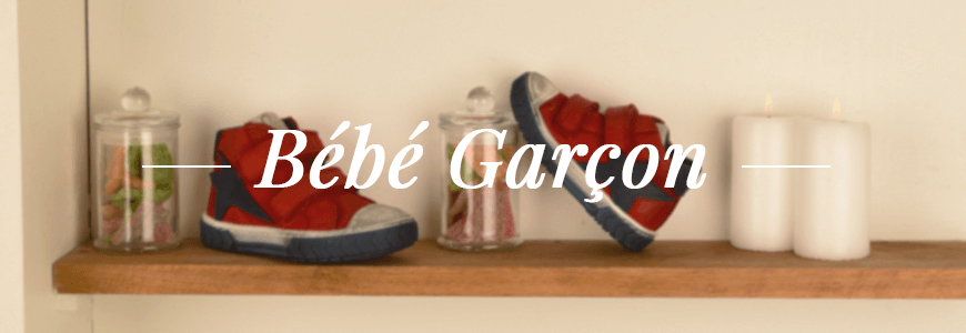 Chaussures bebe garcon